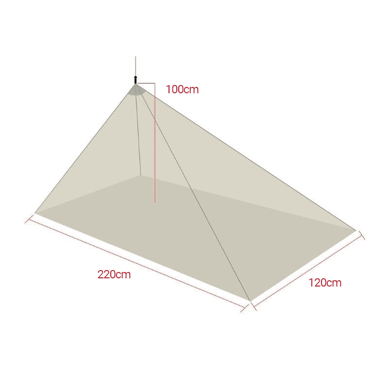 BlocSilver™ EMF Shielding Mini Tent with Earthing Sheet