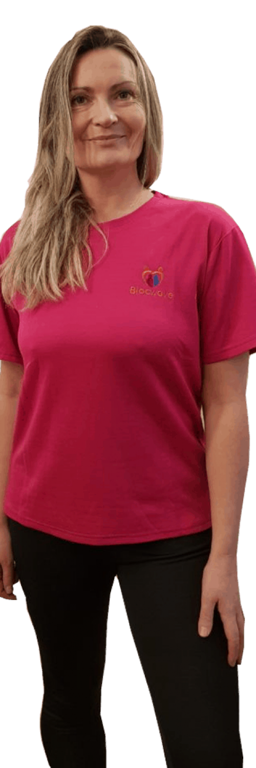 Blocwave Womens T Shirt Bright Pink PNG